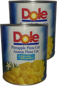 Ananas Pizza Cut